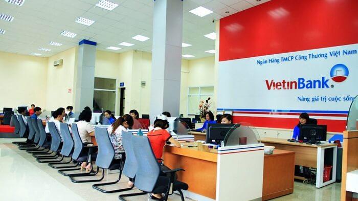 Thời gian làm việc của ngân hàng Vietinbank